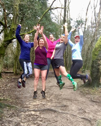 Improvers, trail running, Leith Hill, running, running technique